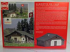Busch 1443  Bausatz: Almhütte - Heidialp