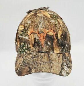 Realtree Edge FS embossed camo hunting hat strechfit M/L