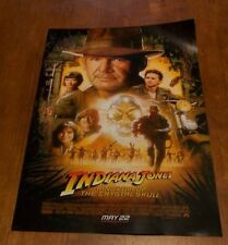 INDIANA JONES KINGDOM OF THE CRYSTAL SKULL POSTER NEW