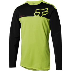 Fox Racing Attack Pro Long Sleeve L/S Jersey Yellow/Black