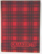 1975 Quaker Salem Ohio Yearbook