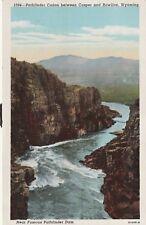"*Wyoming Postcard-""Pathfinder Canyon""  /Between Casper-Rawlins/ (U1-122)"