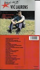CD 26 TITRES VIC LAURENS LE ROCK C'EST CA BEST OF 1990 POLYGRAM FRANCE