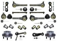 18 Piece Tie Rod Ball Joint  Front Wheel Hub  Kit fits Ford Crown Vic.1995-2002