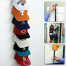 CapRack 18 Baseball Cap Holder Organizer Storage Closet Hanger Door Hat Rack