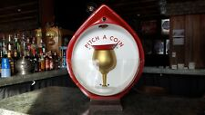 Standard Oil Pitch a Coin game bar Gas station Coin op great condition RARE