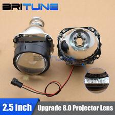 2.5'' Upgrade 8.0 Mini HID Bi-xenon Projector Lens H1 H4 H7 Headlight Retrofit