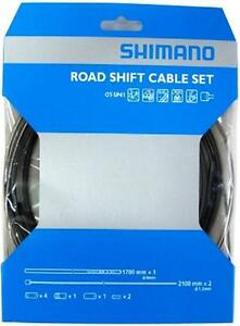 Shimano OT-SP41 Road Shift Cable Set Gear Dura-Ace Ultegra 105 BLACK Y60098022