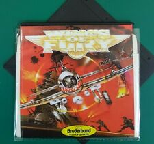 """WINGS OF FURY : floppy disc 5,25"""" Commodore 64 backup game disk (read before)c64"""