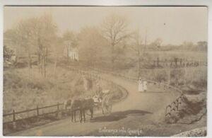 Südafrika Postkarte - Eingang IN George P/U 1913 (A37)