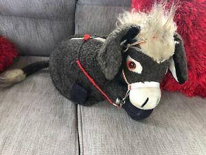 Vintage Merrythought Donkey Soft Toy/ Pyjama / Nightdress Case Collectable