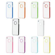 Fundas y carcasas Para iPhone 4s de color principal transparente para teléfonos móviles y PDAs Apple