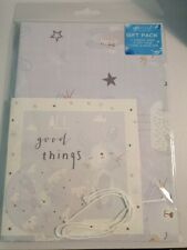Gift Pack 2 Sheets Wrap 2 Gift Cards 1 Card & Envelope