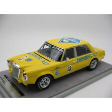 MERCEDES BENZ 300 SEL 6.8 AMG Hockenheim 1971 #38 Heyer tecnomodel Resin 1:18