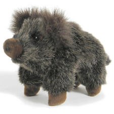 Wild Boar baby collectable plush realistic soft toy by Hansa - 21cm - 2225