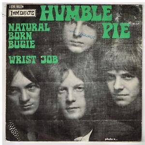 """HUMBLE PIE   Natural born bugie    7"""" SP 45 tours"""