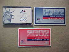 2002 Us Mint Uncirculated *And* Proof Sets - 30 Coins