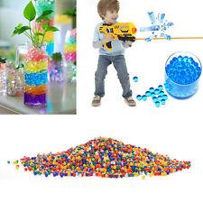 10000 Wasser Kugel Kugeln Gewehr-Pistole Spielzeug Kristallboden -Wasser-Perlen.