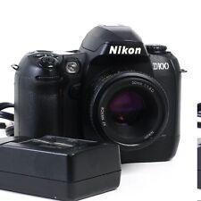 ^ Nikon D100 6.1 MP Digital SLR Camera w/ 50mm 1.8D Lens Two Batteries + Charger