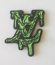 lv green slime mini patch iron on or sew on - 1 patch