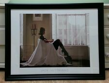 "Big!! 35""x27"" In Thoughts Of You by Jack Vettriano Deluxe Framed Print"