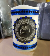 Home Made Arabic Calligraphy LED Candle for Home Décor and Gift-Small