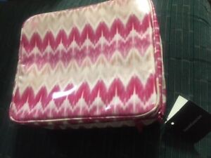 bareMinerals Bare Minerals Pink & White Makeup Cosmetic Case Magnetic Insert