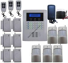 G21 Quad-4-Bands GSM PSTN Wireless Home Security Alarm Burglar System Auto Call