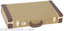 CNB PC315 TWEED GUITAR FX EFFECTS PEDAL HARD ROAD CASE REMOVEABLE LID  HARDCASE
