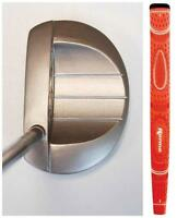 "NEW CLASSIC 35"" MEN'S SVG SPORTS PUTTER MADE ORANGE GOLF CLUB TAYLOR FIT PUTTERS"