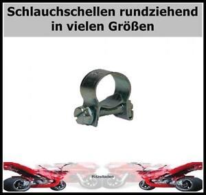 Micro Mini Schlauchschellen Schelle Benzinschlauch rundziehend 10, 25 oder 100St