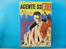 AGENTE SS 018 DENNIS COBB  n. 4 del 1965   ed. Corno   Buono/Ottimo !!!