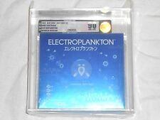 NEW Electroplankton JAPAN Nintendo DS VGA 90 NM+/MT GOLD Graded JAPANESE Import