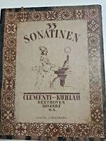 33 Sonatinen, Clementi-Kuhlau, Beethoven, Mozart