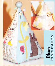 PATTERN - Mouse Pincushion - cute applique & stitchery PATTERN - The Birdhouse