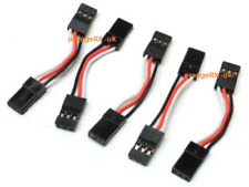 30 mm 3 cm JR Male to Male Servo Control Board récepteur Extension Leads Quad Heli