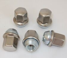 5 New Dodge Ram 1500 Factory OEM Polished Stainless 14x1.5 Lug Nuts Free Shipng
