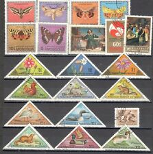 R9961 - MONGOLIA 1974 - LOTTO 21 DIFFERENTI DEL PERIODO - VEDI FOTO