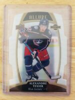 2019-20 UD Allure WHITE RAINBOW RC PARALLEL Alexandre Texier Blue Jackets #71