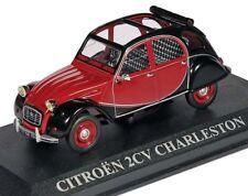 1:43 Altaya - Citroën 2 CV Charleston Baujahr 1982 - rot/schwarz