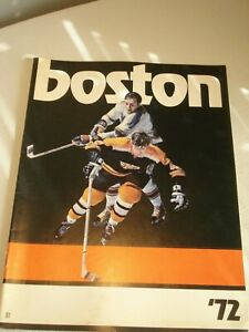 Vintage...1972-73..Boston..Bruins...Oversized..Yearbook.NHL..Photo..Book