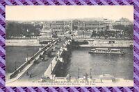 CPA 75 - PARIS - Panorama du pont et de la concorde