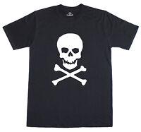 Skull & Crossbones Pirate Fancy Dress Mens T-Shirt Free Post U.K