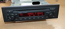Audi A4  Concert 2 CD Mit Chromleiste 8E0 035 186  D BOSE S-Line