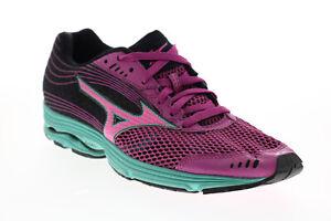 Mizuno Wave Sayonara 3 R539B7 Womens Purple Mesh Athletic Running Shoes 8