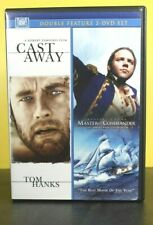 CAST AWAY (Hanks) AND MASTER AND COMMANDER (Russell Crowe)  DOUBLE DVD