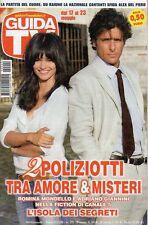 rivista GUIDA TV ANNO 2009 NUMERO 20 ROMINA MONDELLO E ADRIANO GIANNINI