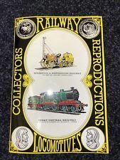 More details for railway locomotives collectors reprodutions book postcards 1978 complete