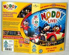Noddy Live - Universal, 2005,  Vhs Tape & Case. Cert U. Collectable VHS