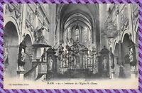 Carte postale - HAM - Intérieur de l'Eglise de N. Dame